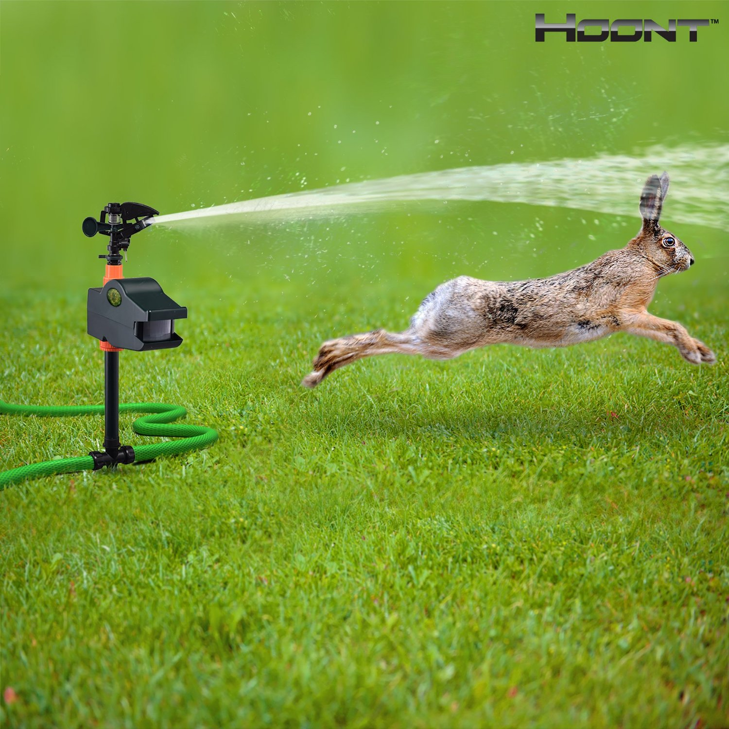 Hoont 8482 Motion Activated Sprinkle Keep Animals Out Of