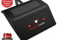 predator guard solar powered review