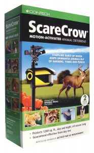 scarecrow motion activated animal repellent review